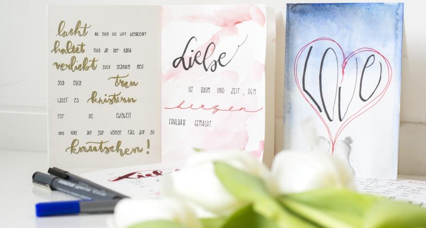 Hochzeitskarten Schone Spruche Und Tolle Gestaltung News Weiss